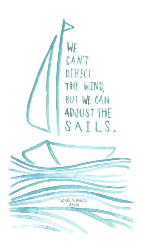 adjust sails
