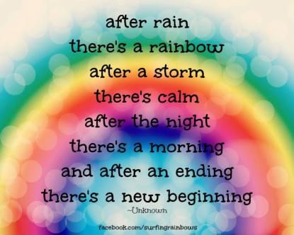rainbow new beginning