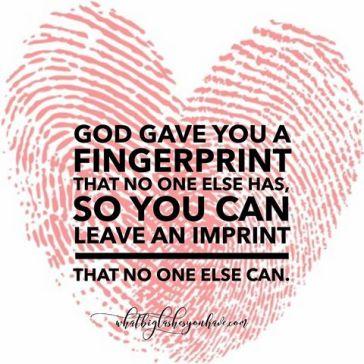your fingerprint