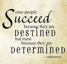 success determined